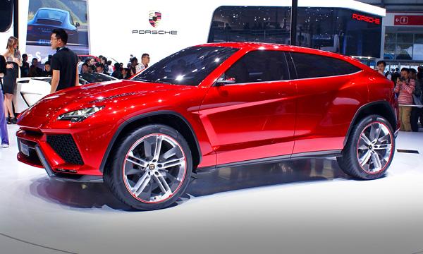 Внедорожник от Lamborghini появится в 2016 году