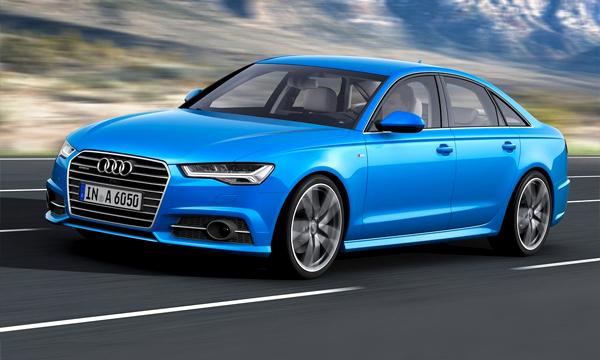 Audi A6 получит матричные фары после рестайлинга