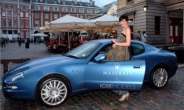 Maserati стала королевой Недели Высокой Моды