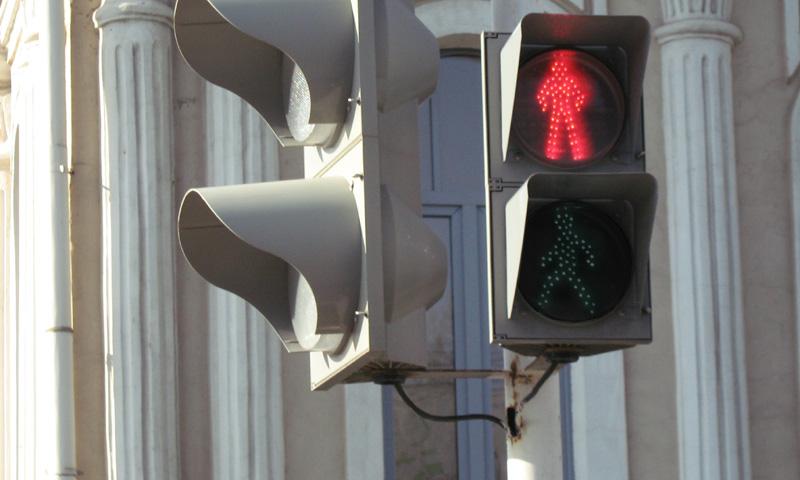 В Москве увеличится число светофоров с табло отсчета времени
