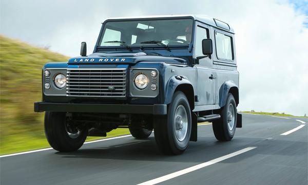 Производство Land Rover Defender завершат в 2015 году