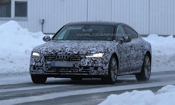 Audi A7 с матричной оптикой покажут в этом году