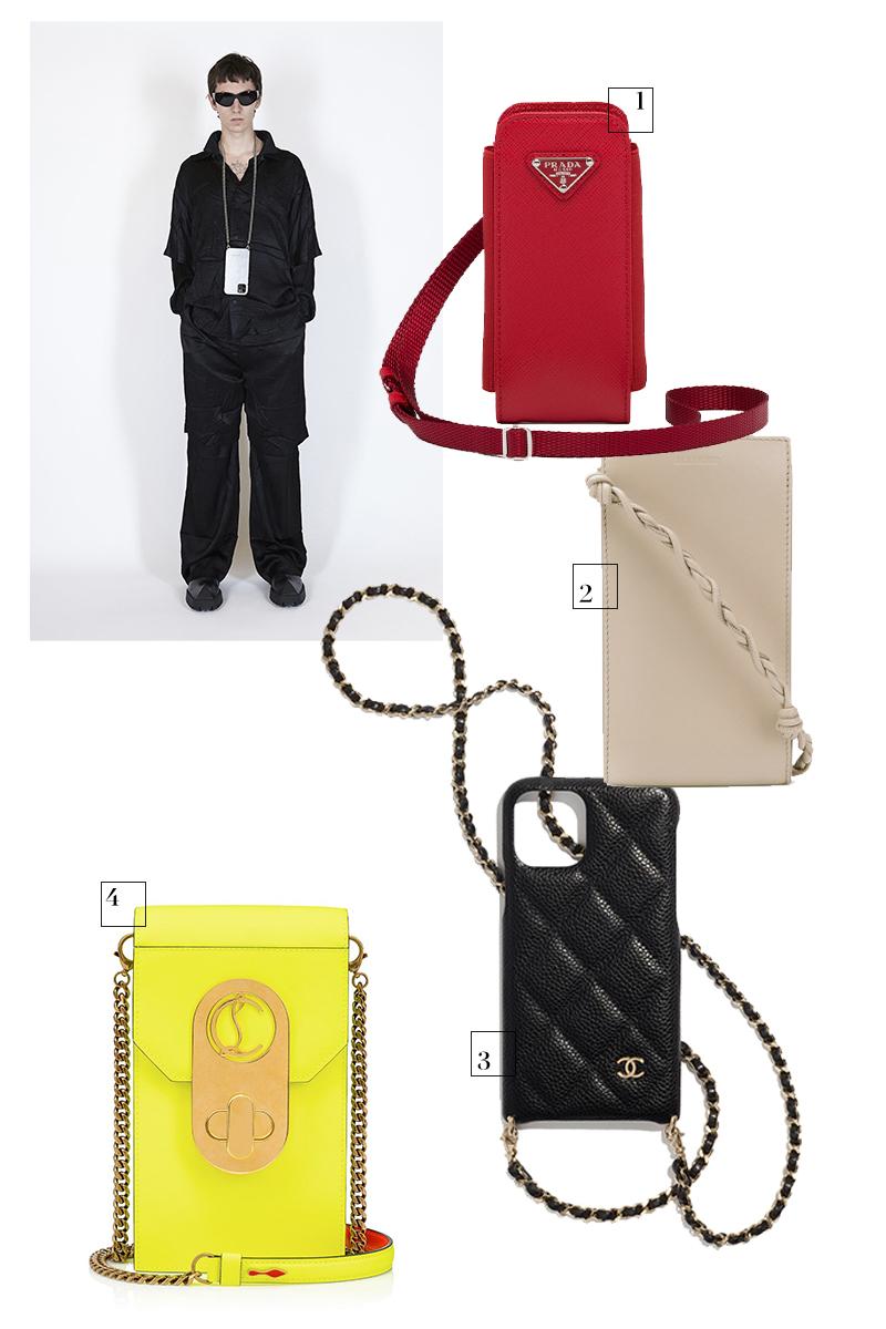 Balenciaga, весна-лето 2021 1.Prada, 29 000 руб. (Prada) 2.Jil Sander, 48 923 руб. (farfetch.com) 3.Chanel, цена по запросу (Chanel) 4.Christian Louboutin, 81 800 руб. (ЦУМ)