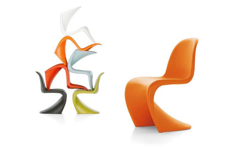 Вернер Пантон, стулPanton Chair