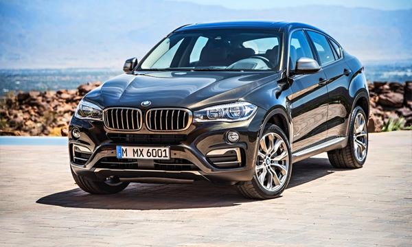 Новый BMW X6 готов к премьере