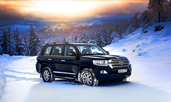 Снежный фарс. Тест-драйв Toyota Land Cruiser 200