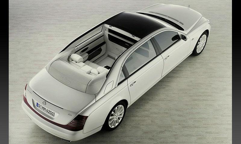 Maybach официально представил ландолет 62 S