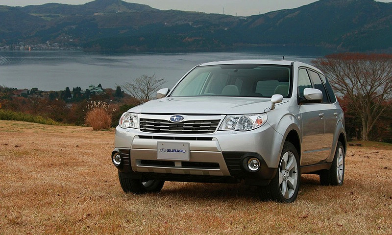 Subaru официально представил Forester 2009