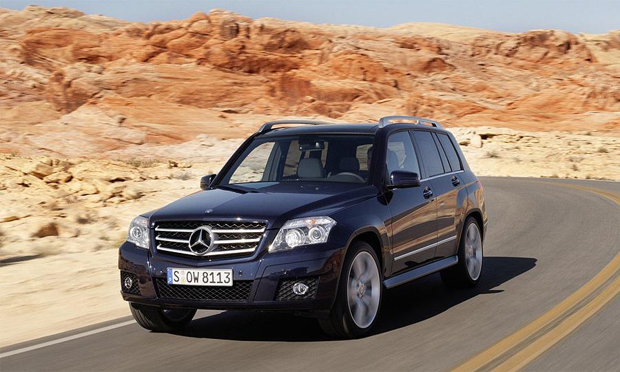 Новый Mercedes-Benz GLK появится в продаже в октябре