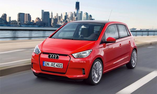 Audi построит автомобиль на базе Volkswagen Up!