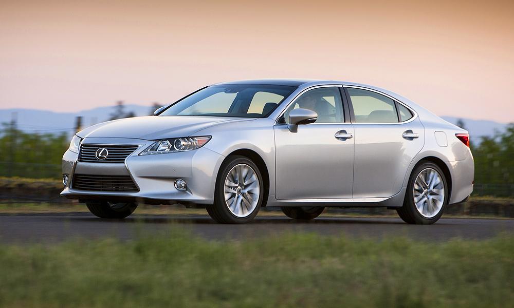 Управление комфортом. Тест-драйв нового Lexus ES