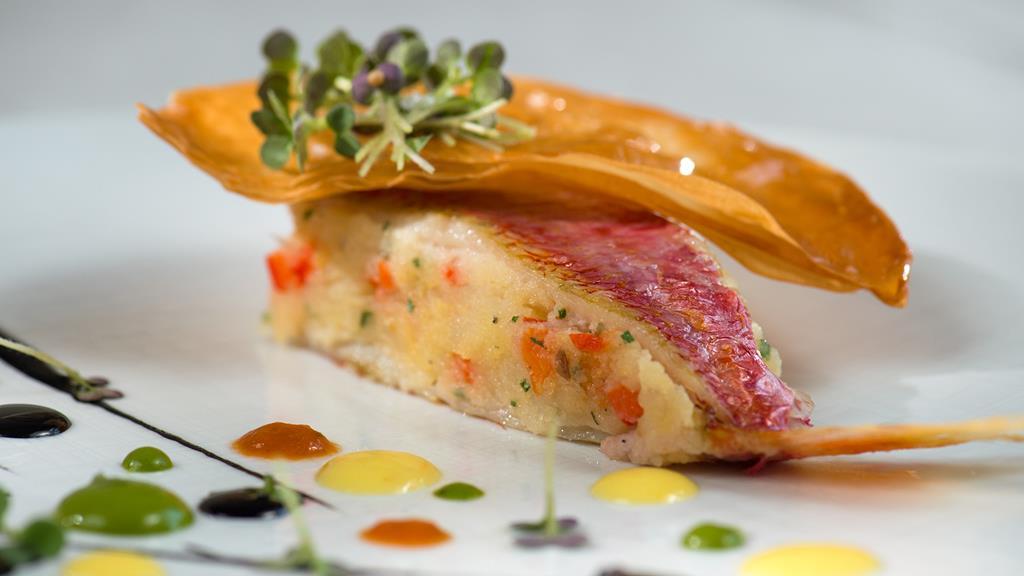 Блюдо из меню ресторана Acquerello