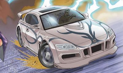Mazda RX-8 стала героем комикса