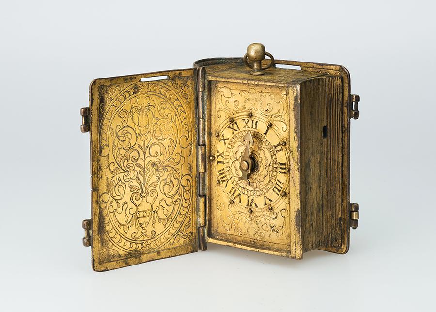Часы в форме книги Германия, ок. 1600 г.