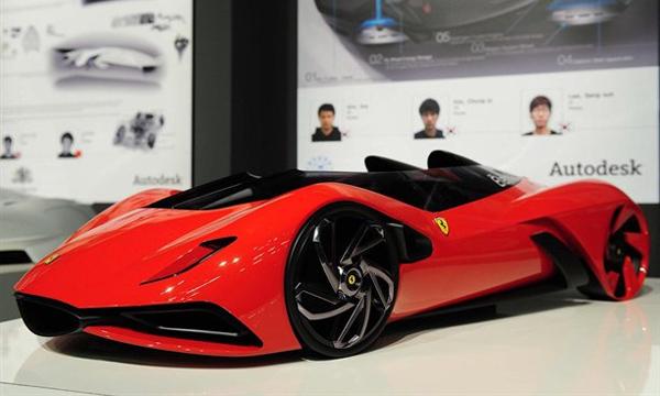 Студенты со всего мира построили будущее Ferrari
