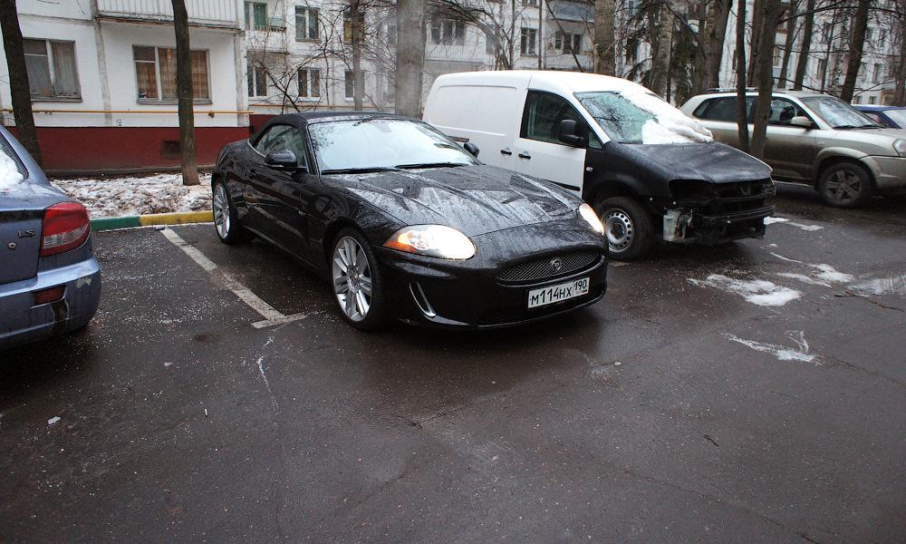В московских дворах до конца года появится 130 000 парковок