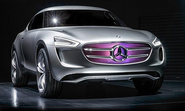 Mercedes представил прототип самого маленького кроссовера