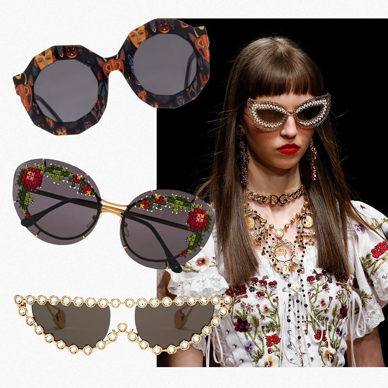 1. Andy Wolf, 32 500 руб. 2. Ulyana Sergeenko (Aizel), 75 000 руб. 3. Gucci, 52 385 руб. Модель Dolce & Gabbana