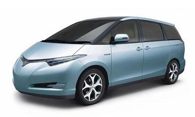 В Японии состоялась премьера гибридной Toyota Estima II
