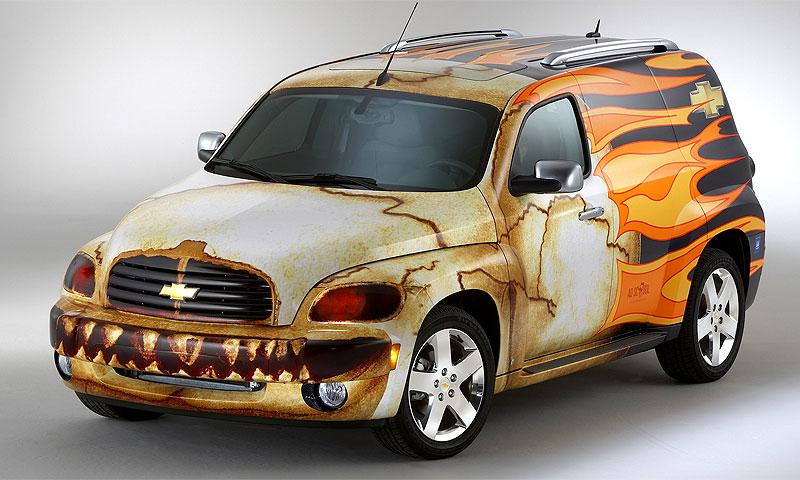 Chevrolet HHR Panel – Череп из ада