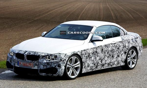 Фотошпионы засняли BMW 4-Series с откидной крышей