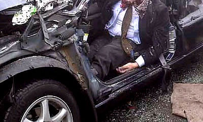 Милиционер спровоцировал ДТП с 2 жертвами и 27 ранеными