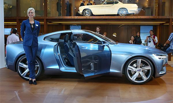 Volvo Concept Coupe отправят в серийное производство