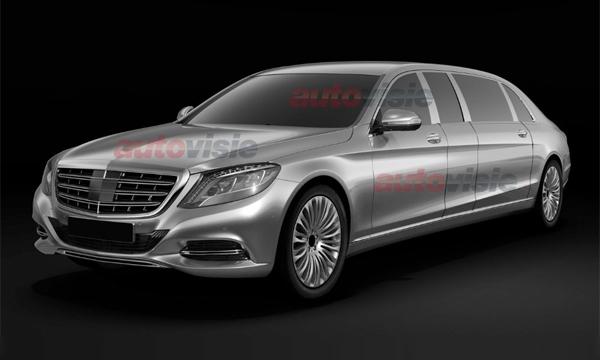 В сети появились патентные изображения Mercedes-Benz Pullman
