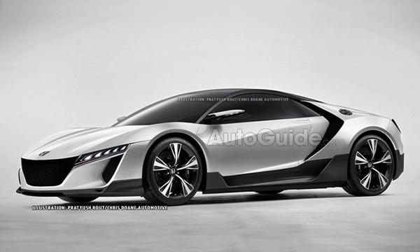 Новый спорткар Honda получит название ZSX