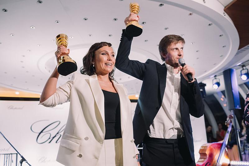 Дарья Екамасова и Александр Паль