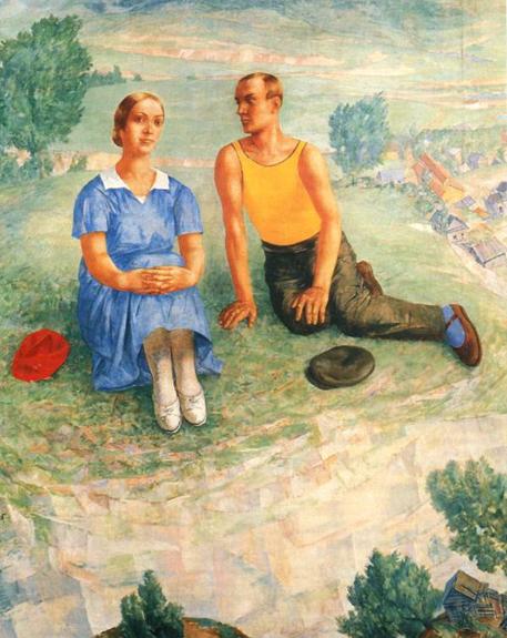 Кузьма Петров-Водкин. «Весна»