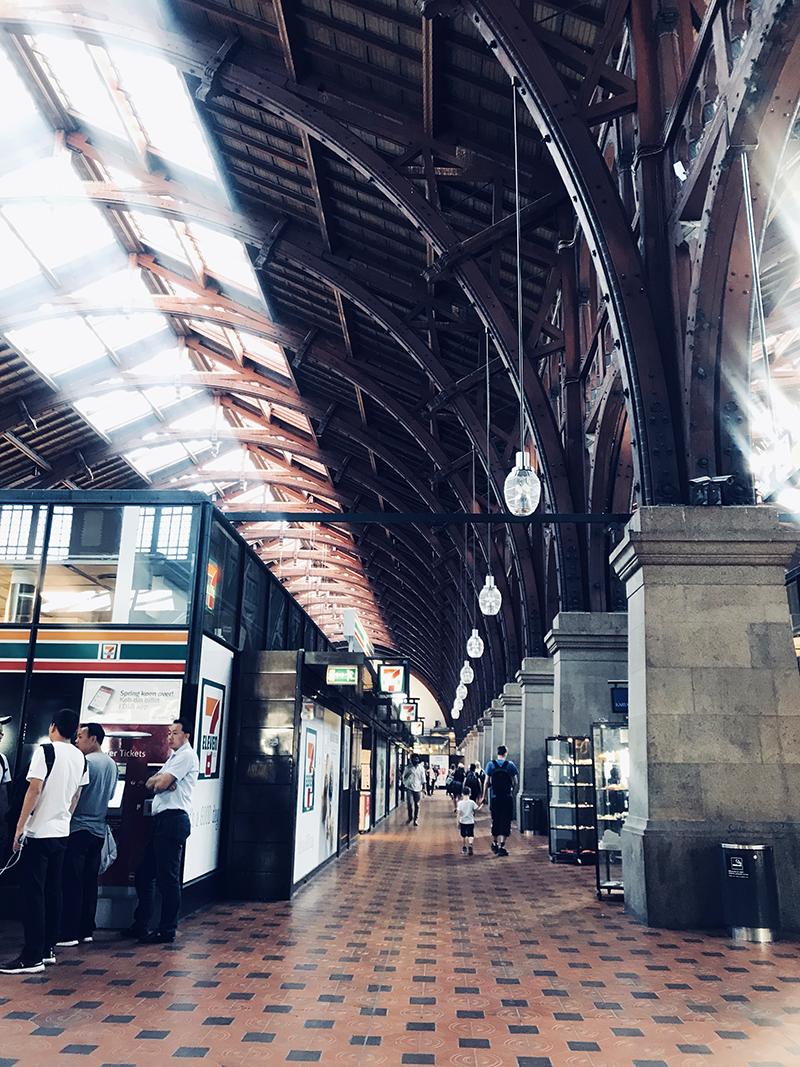 Центральный железнодорожный вокзал в Копенгагене