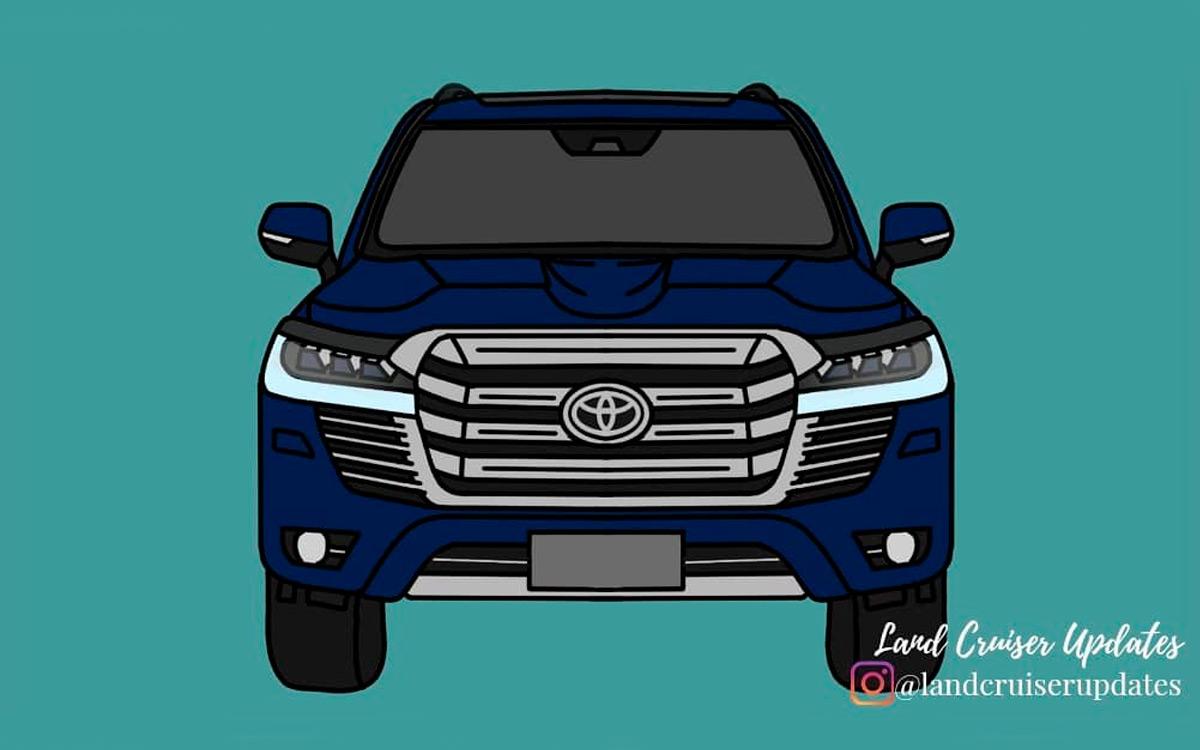 Технические характеристики Toyota Land Cruiser 300 рассекретили в сети