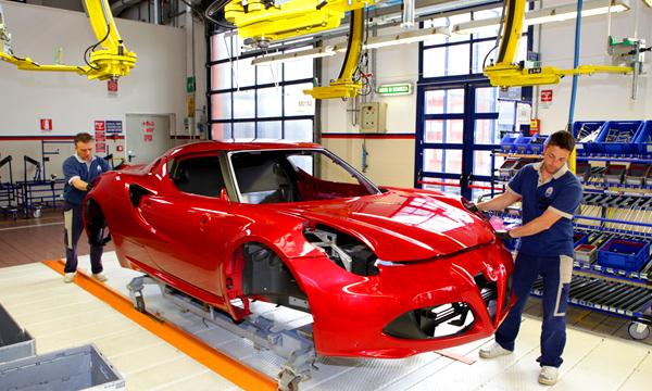Alfa Romeo приступила к производству спорткара 4С
