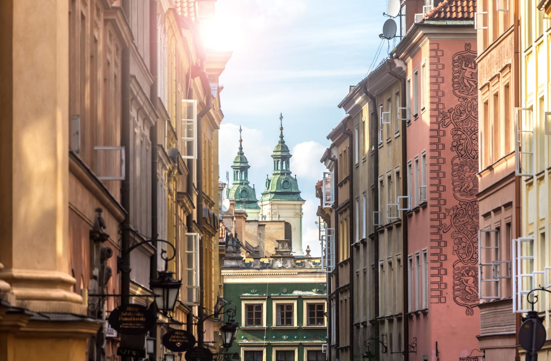 Улица Пивна с видом на Костел Святого Духа