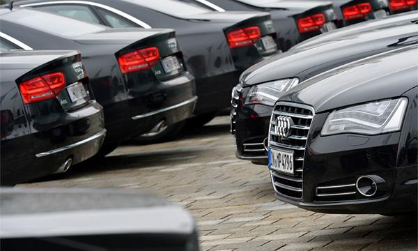 Поставки автомобилей из Германии снизились на 25%