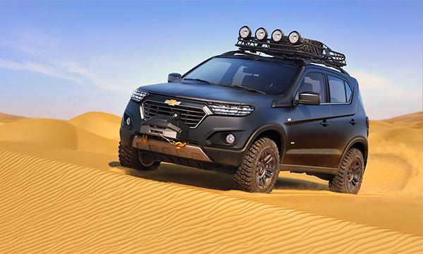 Chevrolet Niva за 11 миллиардов: что мешает новинке стать серийной