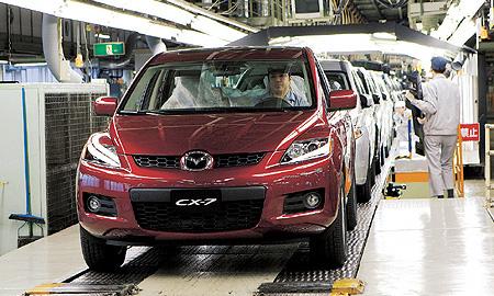 Mazda не будет строить завод в Восточной Европе