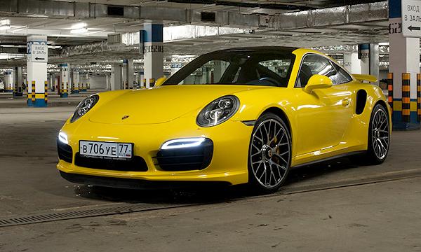 Работа на имидж. Тест-драйв Porsche 911