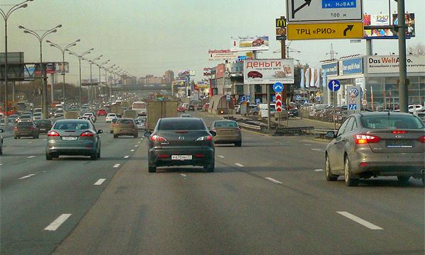 Ремонт дорог остановят из-за дачников