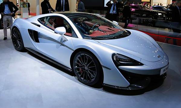 McLaren показал в Женеве новый спорткар 570GT