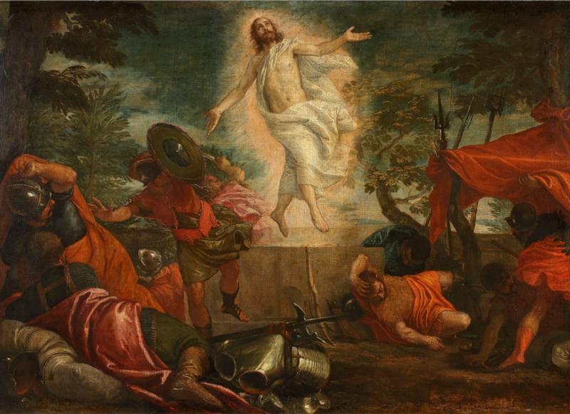 Паоло Кальяри, прозванный Веронезе. «Воскресение Христа», около 1575