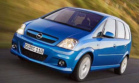 Opel Meriva OPC дебютирует в Эссене
