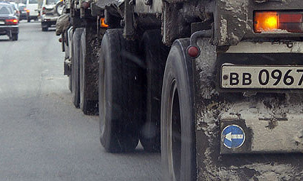 Дороги Подмосковья закрыли для тяжелых грузовиков