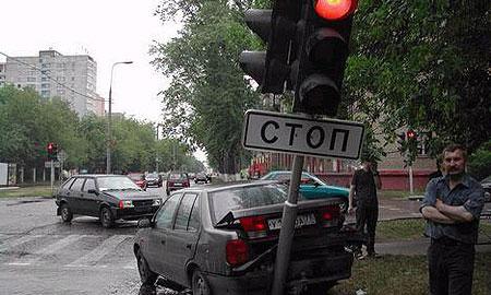 На сломанный светофор можно пожаловаться