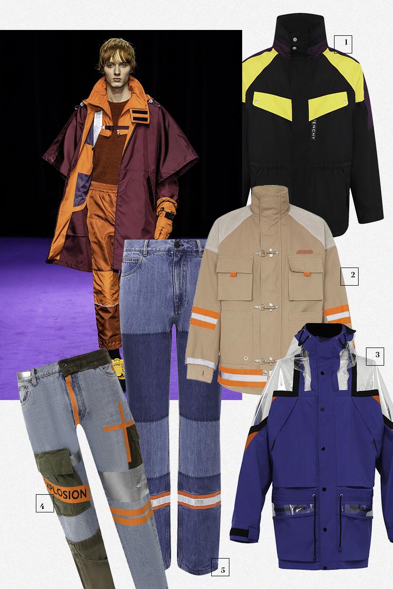 1) Givenchy (ЦУМ), 162 500 руб. 2) Heron Preston (Farfetch), 80 616 руб. 3) Maison Margiela (Matches Fashion), 207 545 руб. 4) Dolce & Gabbana (Третьяковскийпроезд), 143 500 руб. 5) Calvin Klein 205W39NYC (ЦУМ), 45 150 руб.