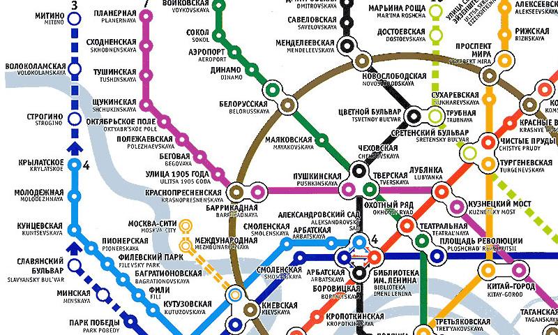 Часть Филевской линии метро закроют на все праздники