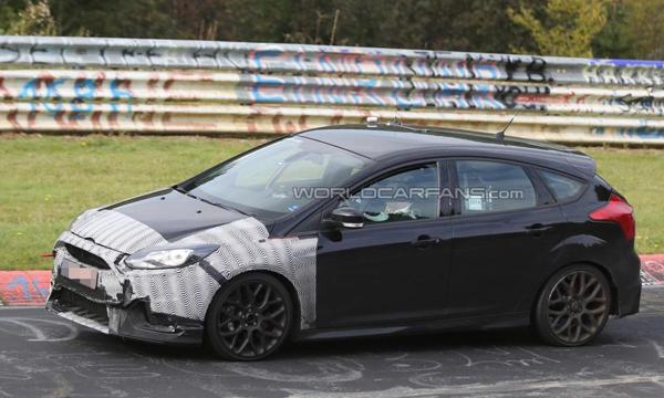 «Заряженный» Ford Focus RS представят 3 февраля