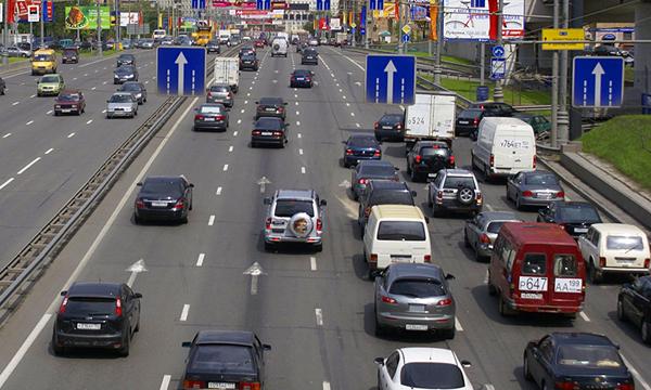 Московские водители будут получать больше информации о состоянии дорог