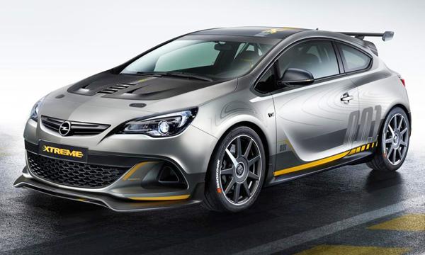 Новая Opel Astra OPC получит 1,6-литровый мотор
